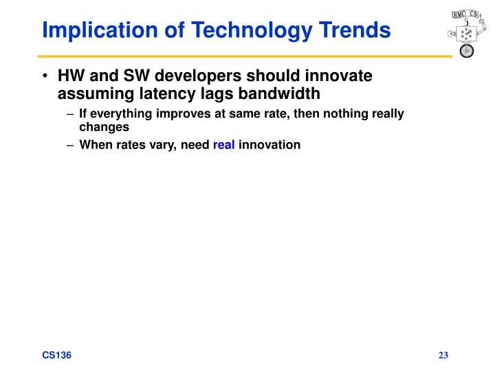 Implication of Technology Trends