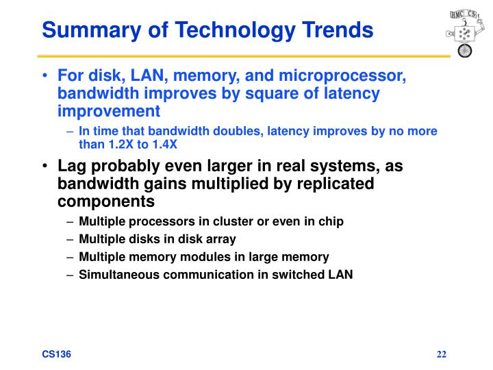 Summary of Technology Trends