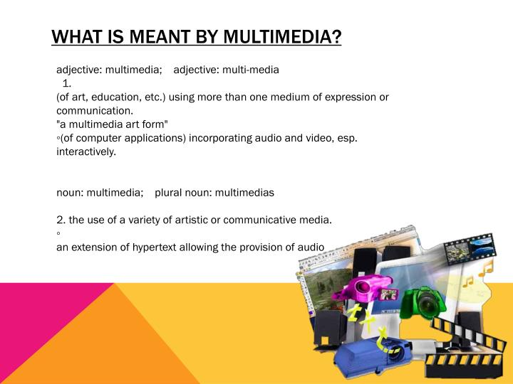 What is meant by Multimedia?