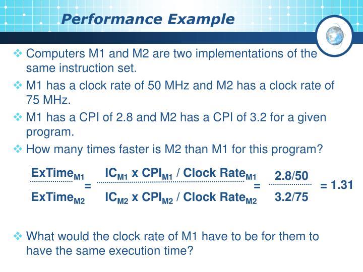 Performance Example