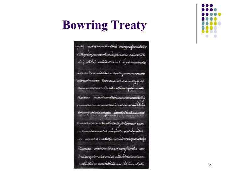 Bowring Treaty