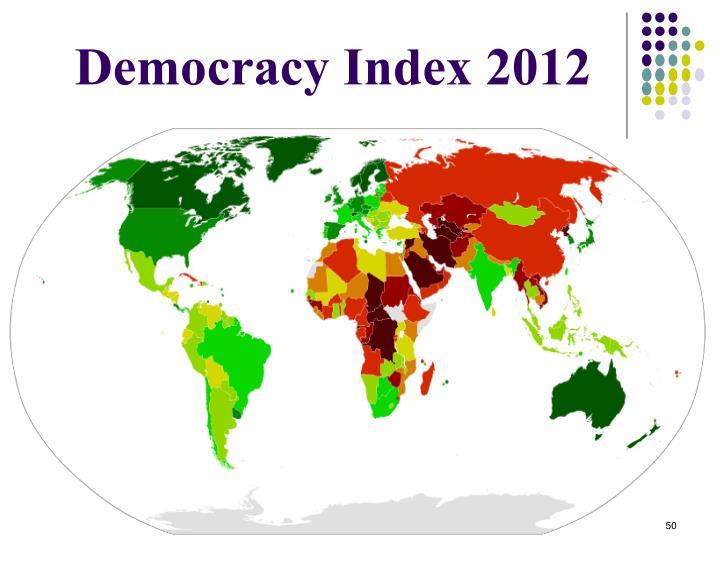 Democracy Index 2012