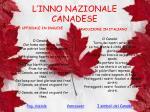 l inno nazionale canadese