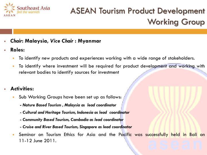 ASEAN Tourism Product Development
