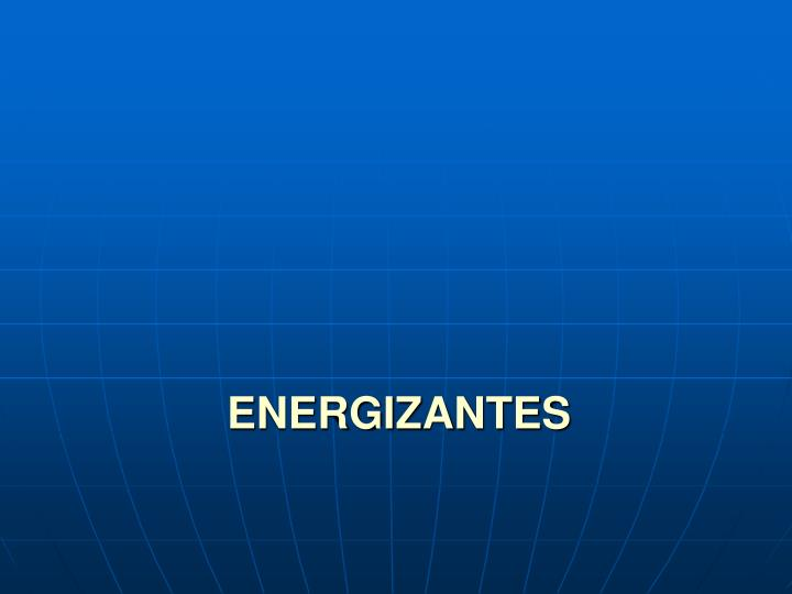 ENERGIZANTES
