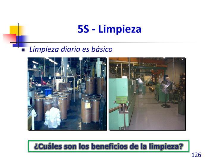 5S - Limpieza