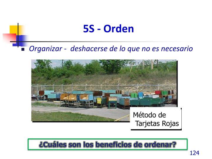5S - Orden