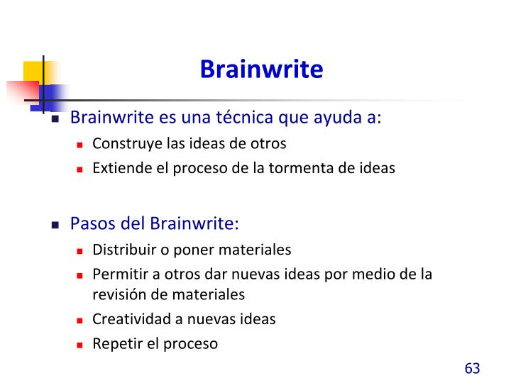 Brainwrite