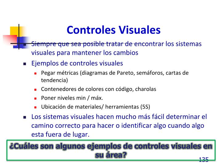 Controles Visuales