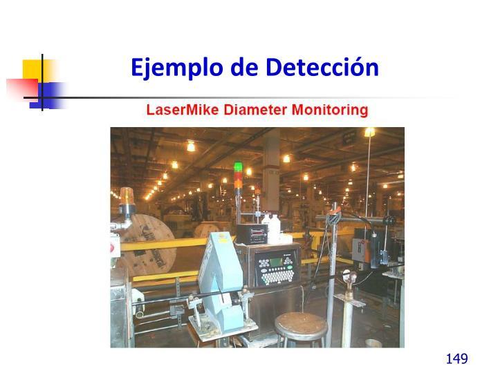 Ejemplo de Detección