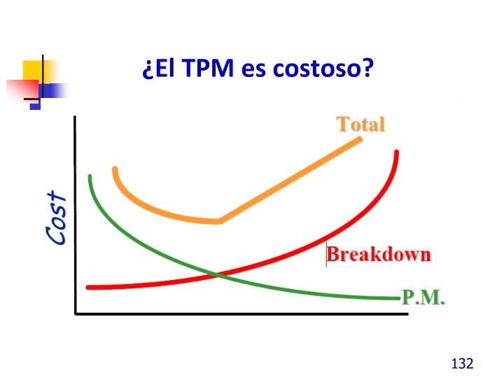 ¿El TPM es costoso?