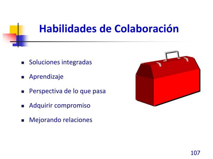 Habilidades de Colaboración