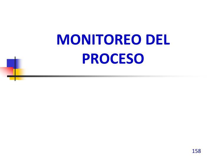 Monitoreo del Proceso