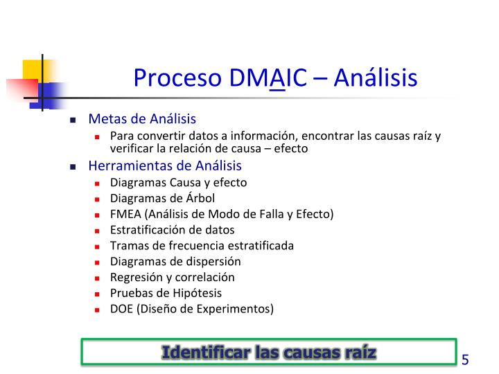 Proceso DM