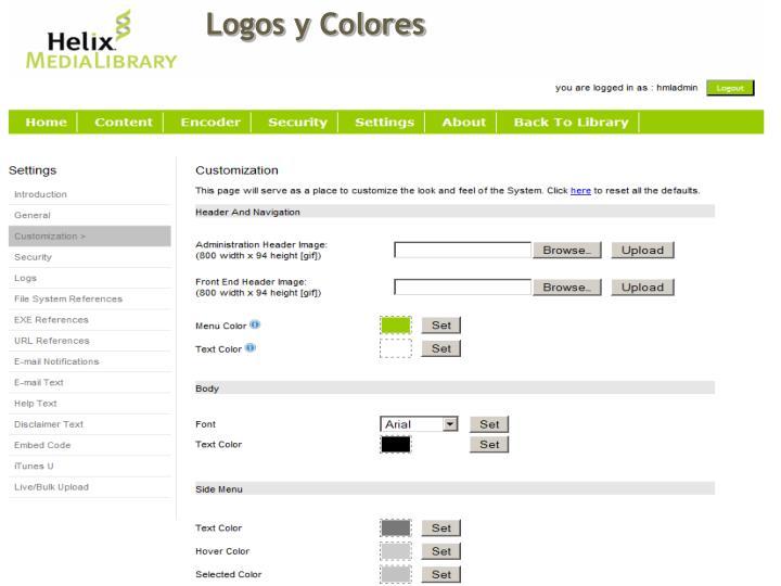 Logos y Colores