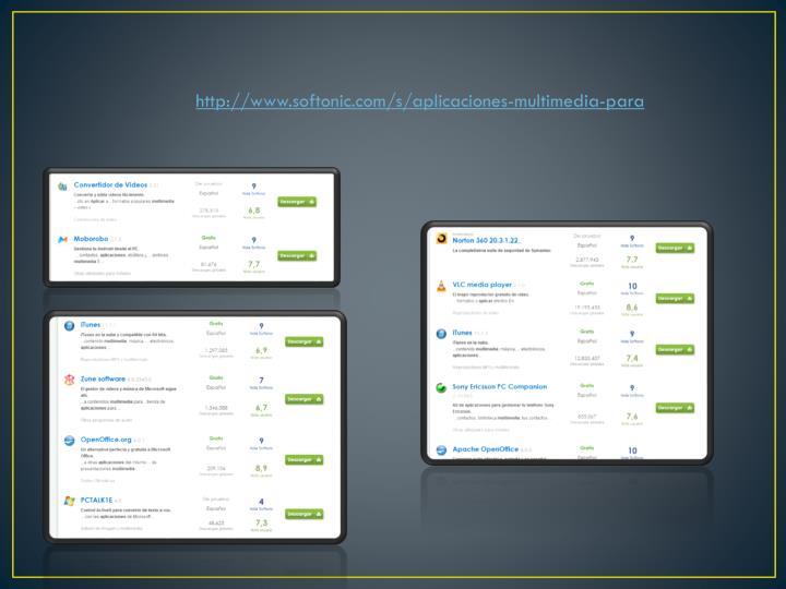http://www.softonic.com/s/aplicaciones-multimedia-para