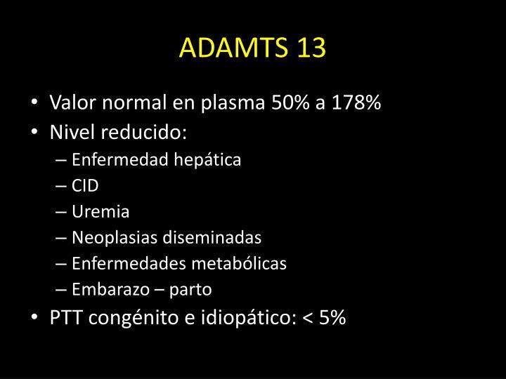 ADAMTS 13