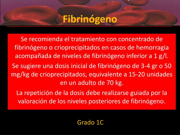 Fibrinógeno