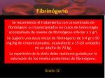 fibrin geno