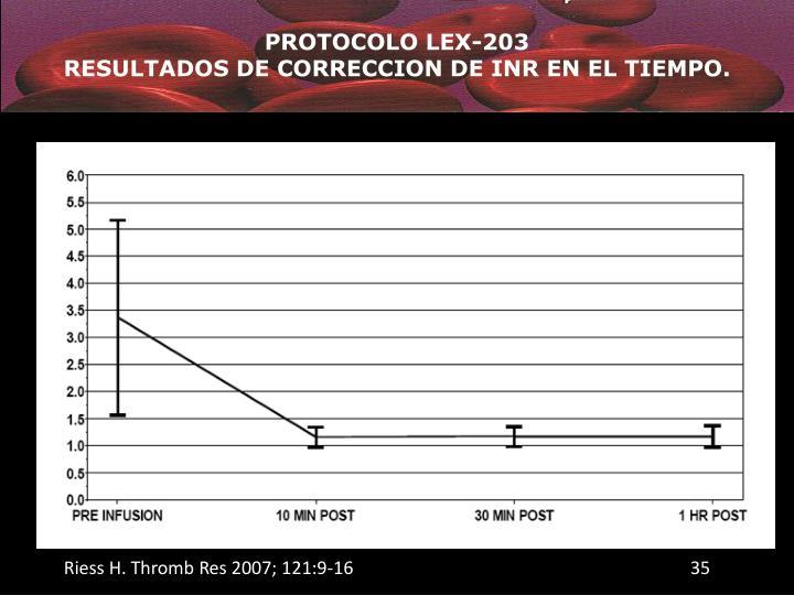 PROTOCOLO LEX-203
