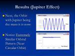results jupiter effect1