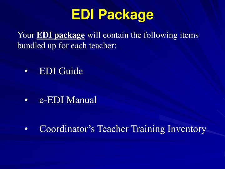 EDI Package