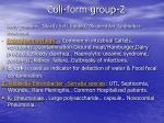 coli form group 2