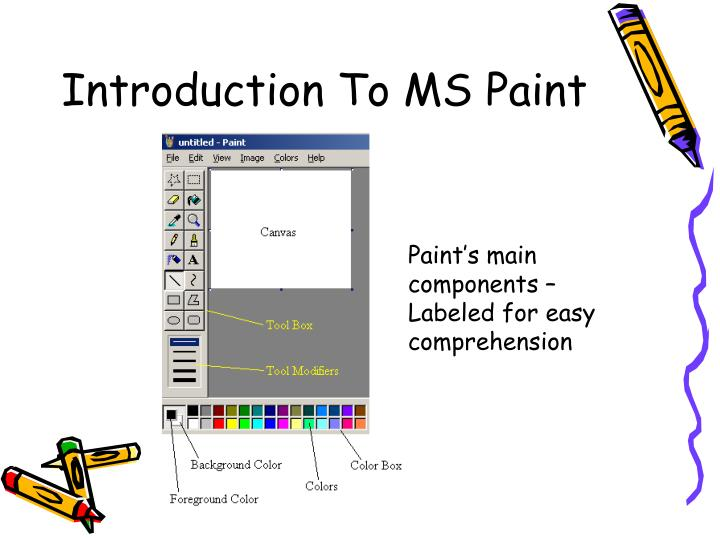 Introduction To MS Paint
