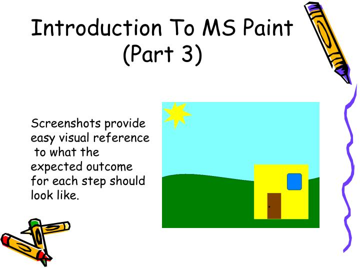Introduction To MS Paint (Part 3)