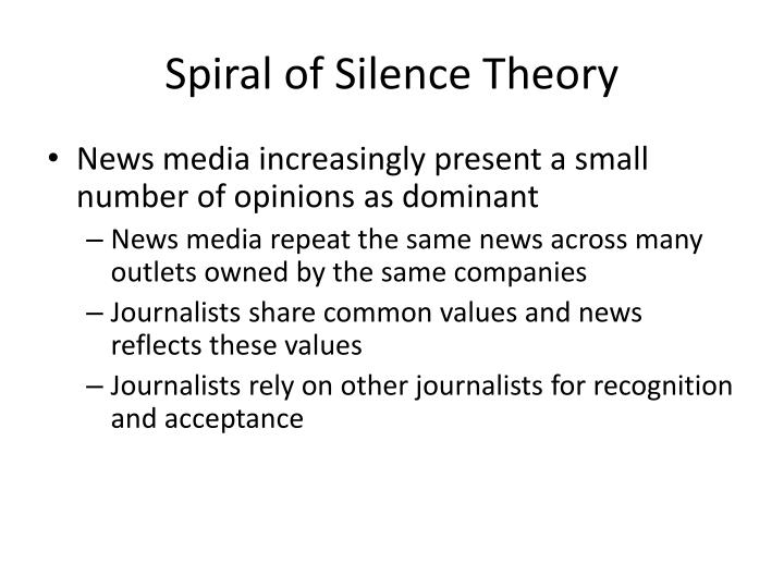 Spiral of Silence Theory