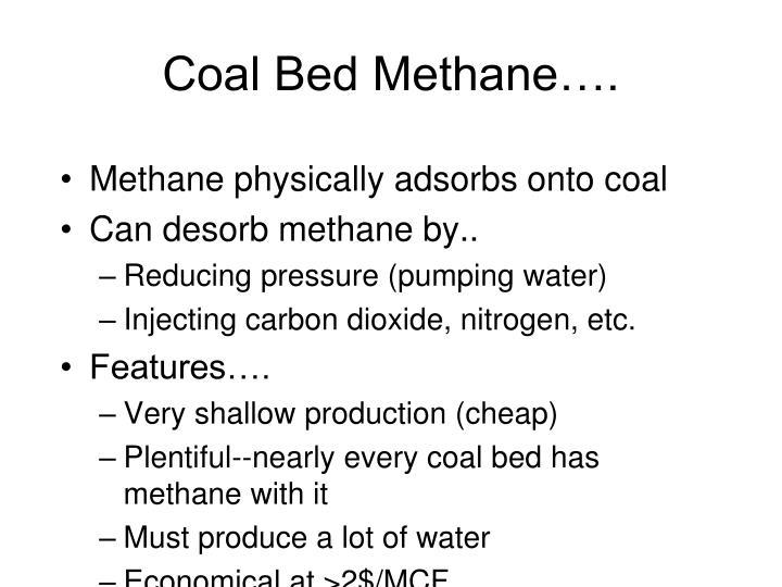Coal Bed Methane….