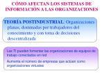 c mo afectan los sistemas de informaci n a las organizaciones6