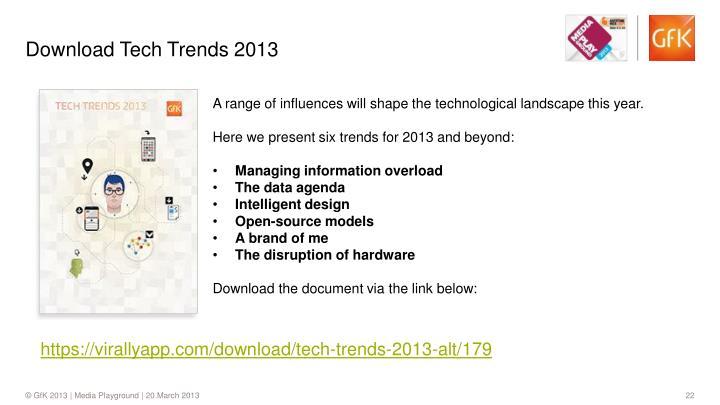 Download Tech Trends 2013