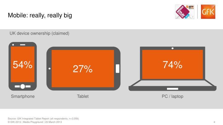 Mobile: really, really big