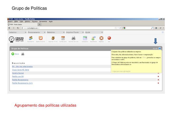 Grupo de Políticas