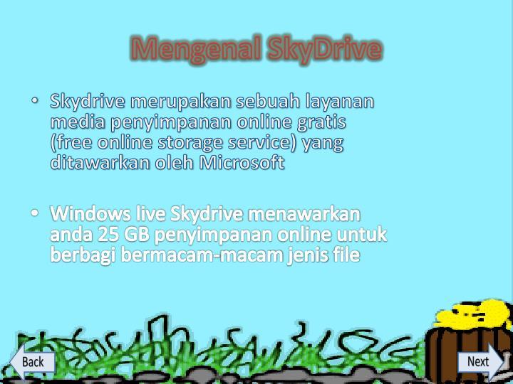 Mengenal SkyDrive