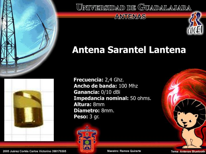 Antena Sarantel Lantena
