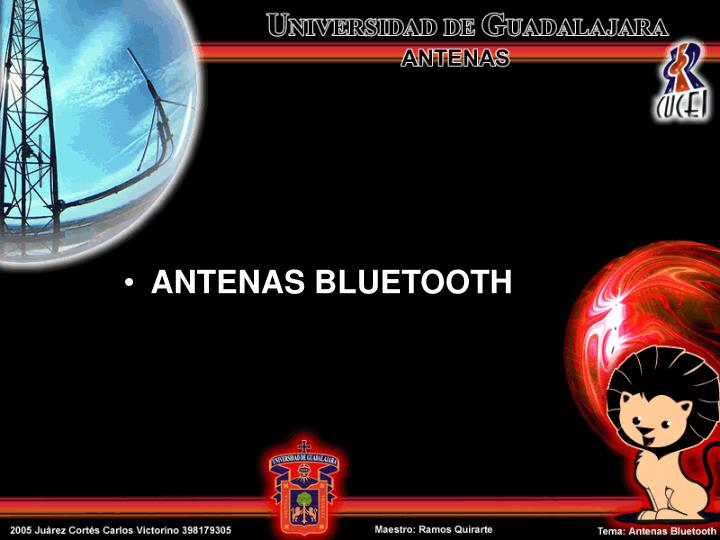 ANTENAS BLUETOOTH