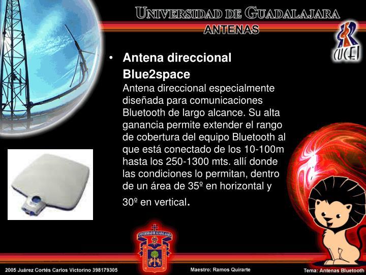 Antena direccional Blue2space