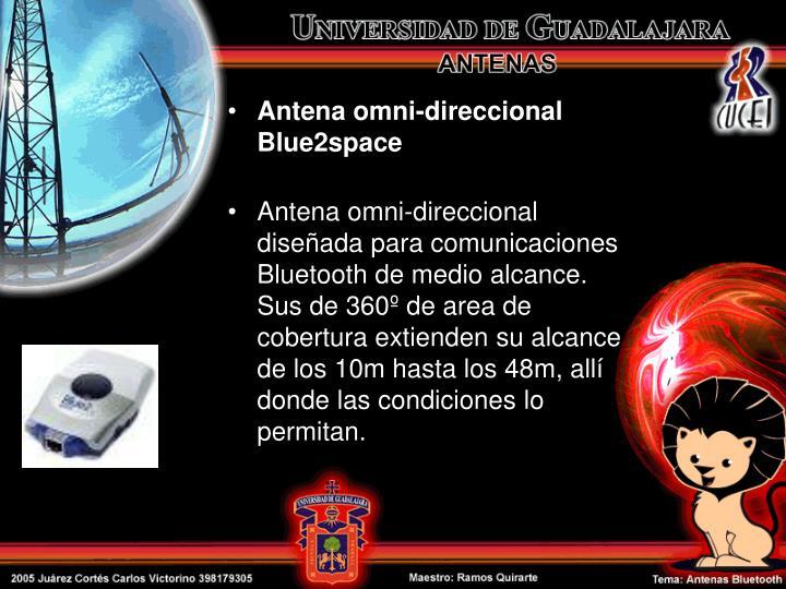 Antena omni-direccional Blue2space