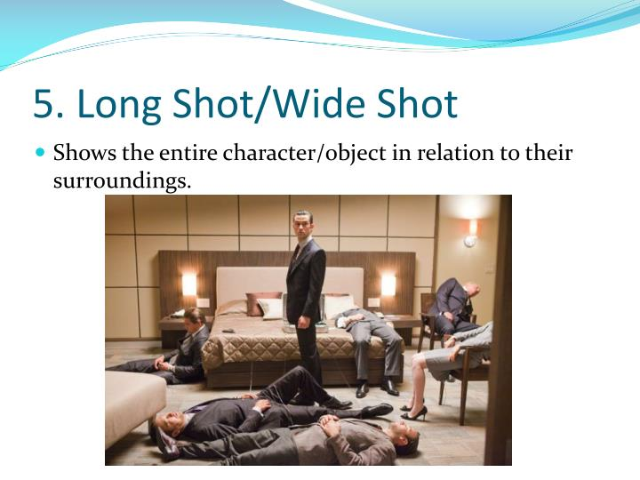5. Long Shot/Wide Shot