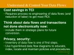 understand control your data flows
