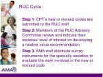 ruc cycle1