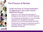 the process of review2
