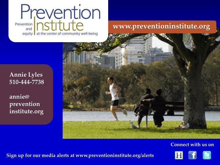 www.preventioninstitute.org