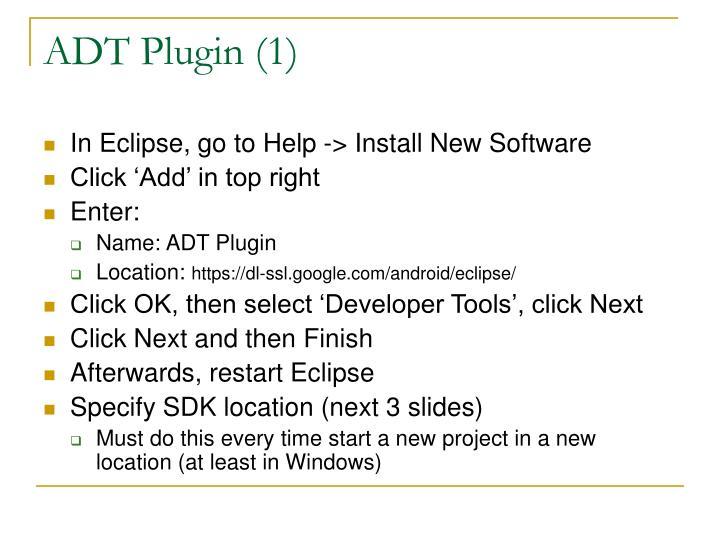 ADT Plugin (1)