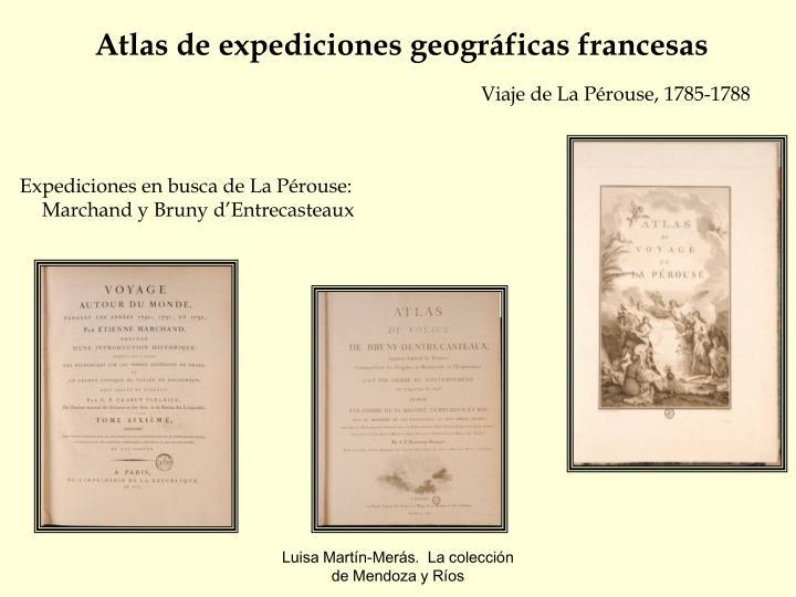 Atlas de expediciones geográficas francesas