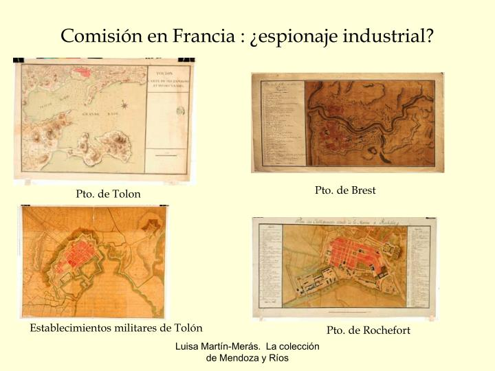 Comisión en Francia : ¿espionaje industrial?