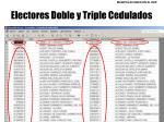 electores doble y triple cedulados3