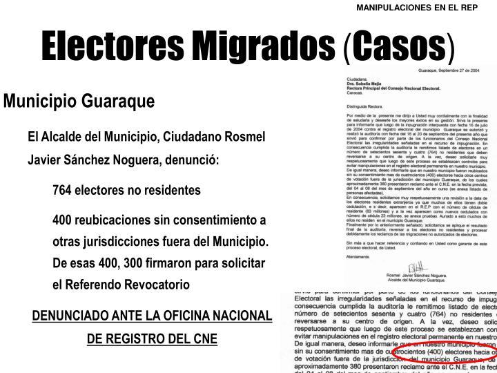 Electores Migrados